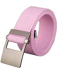 Inlefen Ceinture de taille tactique pour femmes, ceinture en toile tissée  haute, ceintures de 36aca1888c8