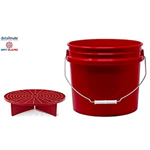 Alftek 23.5//26cm Car Wash Grit Guard Einf/ügen Waschbrett Wassereimer Filter Anti Scratch Tool