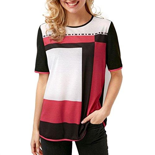Jaminy Damen Sommer Oberteil Lose Langarmshirt Vintage Tunika Hemd T-Shirt Bluse Elegante Frauen Tunika Oberteile Loose Sommer Blusen Shirt L-5XL (XL, Schwarz)