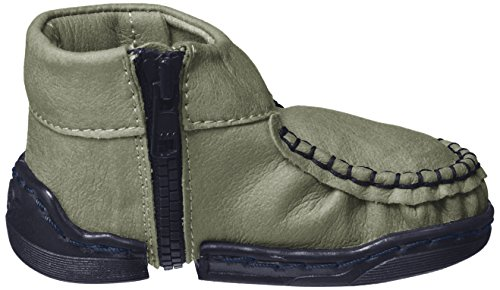 Walkkings Unisex Baby Zip Around Lauflernschuhe Grau (Whaly)
