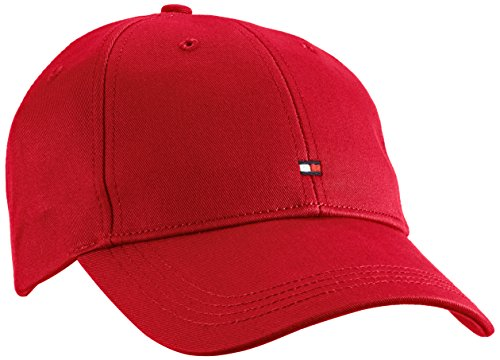 Tommy Hilfiger Herren Classic BB Baseball Cap, Rot (Barbados Cherry-PT 619), One Size