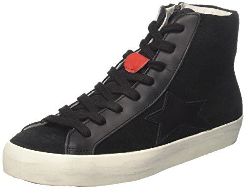 Ishikawa High, Sneaker a Collo Alto Unisex-Adulto Nero