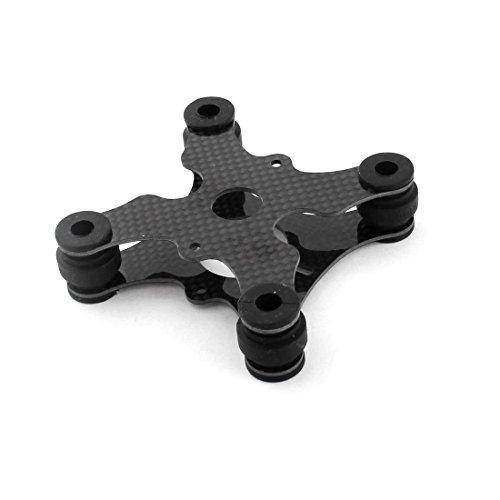 Preisvergleich Produktbild 3K Carbon-Faser-Schwingungsdämpfer Platte für RC DJI Phantom GOPRO Kamera