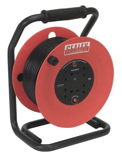 SEALEY CR50/1 5 - CARRETE ALARGADOR DE CABLE (50 M  230 V)