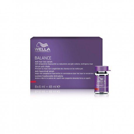 Wella - BALANCE ANTI HAIR-LOSS serum 8x6ml 48 ml