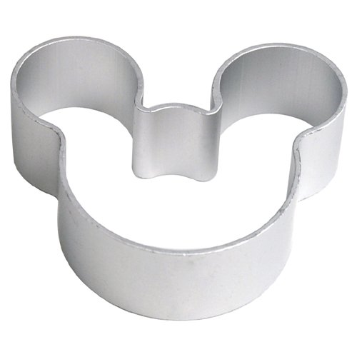 Mickey Mouse Mold (Veroda Mickey Mouse Icon Stil Metall Pastry Baking Mold Ausstechform)