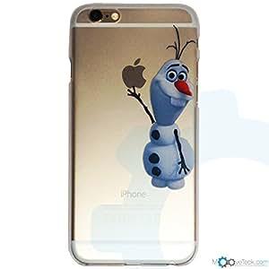 Coque rigide transparente Olaf de la reine des neiges pour iPhone 6 Plus et 6S Plus