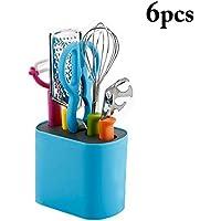 JUSTDOLIFE 6PCS Gadget De Cocina Conjunto Batidor De Huevo Rallador De Verduras Tijera De Cocina (