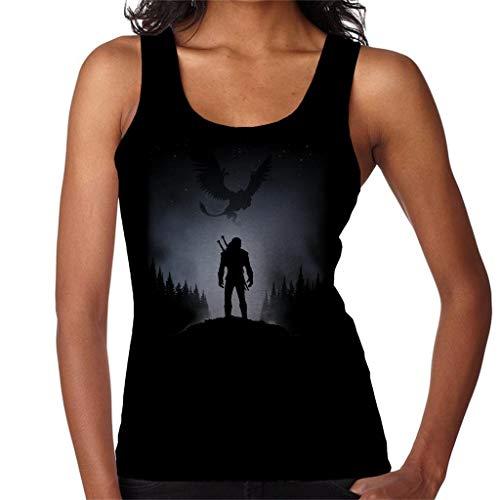 Witcher White Wolf Women's Vest