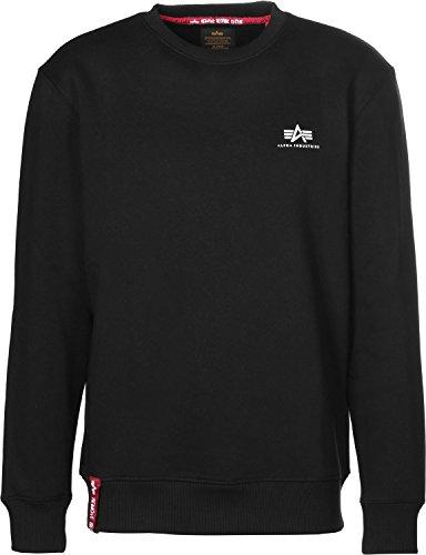Alpha Industries Basic Small Logo Sweatshirt Schwarz S -