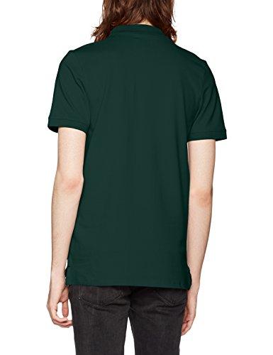 SELECTED HOMME Herren T-Shirt Shharo SS Embroidery Polo NOOS Grün (Trekking  Green)