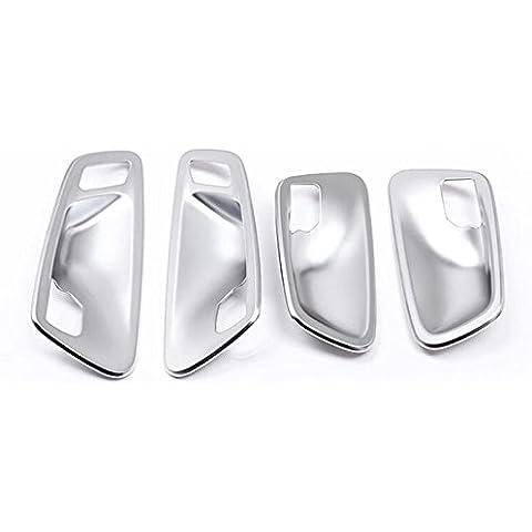Interno Cromato ABS Maniglia Bowl cornice Cover Trim 4pezzi per BMW Serie 2F45F46Gran Active Tourer - Maniglie 4 Pezzi