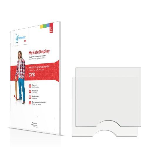 2x Vikuiti MySafeDisplay Displayschutzfolie CV8 von 3M passend für Samsung SGH-P310