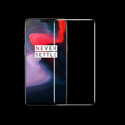 ONICO Folie Für OnePlus 6 Bildschirm Schutzfolie (Nicht Panzerglas),3D Selbstheilung Schutzfolie Kompatibel mit Hülle Vollständige Abdeckung (Vorne HD)