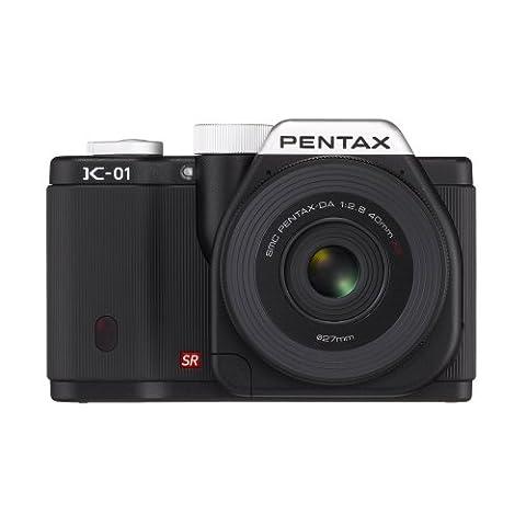 Pnetax K-01 Lens Kit w DA 40mm XS