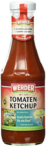Preisvergleich Produktbild Werder Tomaten- Ketchup,  12er Pack (12 x 450 ml)