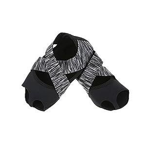 Yoga Socken Anti Rutsch für Damen, Non Slip Yoga Grip Socken Yoga Pilates Socken mit Griffen Non Slip Skid Barre Soft Wrap Tanz Trainingsschuhe mit Zehen für Pilates Ballett Barre Studio Bikram Männer
