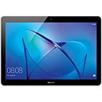 "Huawei Mediapad T3 Tablet 4G LTE, Display da 10"", CPU MSM8917, Quad-Core A53, 1.4 GHz, 2 GB RAM, ROM 16 GB, colore Grigio"