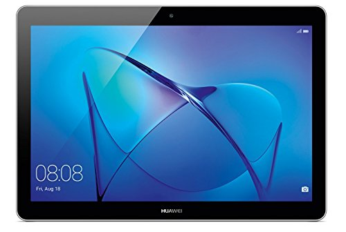 Huawei Mediapad T3 10 - Tablet de 9.6 pulgadas IPS HD (WiFi, Procesador quad-core Qualcomm Snapdragon 425, 2 GB de RAM, 16 GB de memoria interna, Android 7 Nougat), color gris
