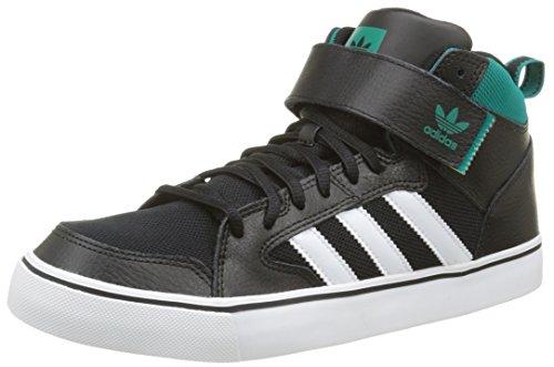 adidas Herren Varial II Mid High-Top, Schwarz (Core Black/Ftwr White/EQT Green S16), 45 1/3 EU (Skate Mid 2 Schuhe)