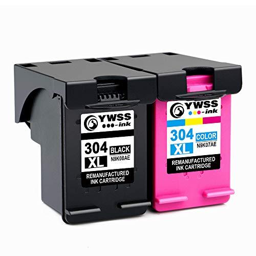 YWSS Remanufacturado Cartucho Tinta HP 304 XL HP 304