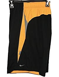 Nike Men's Core Contend 9'' Volley Shorts ness6350 Black/orange