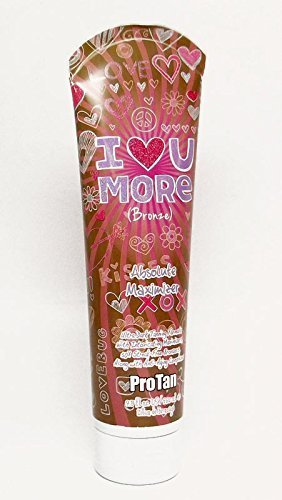 Pro Tan Bronzer (Pro Tan I LOVE YOU MORE 50X Streak-Free Bronzer - 9.5 oz. by Pro Tan Tanning Products)