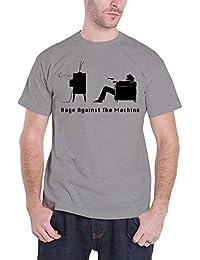 Rage Against The Machine Herren T Shirt Grau Wont Do explicit band logo