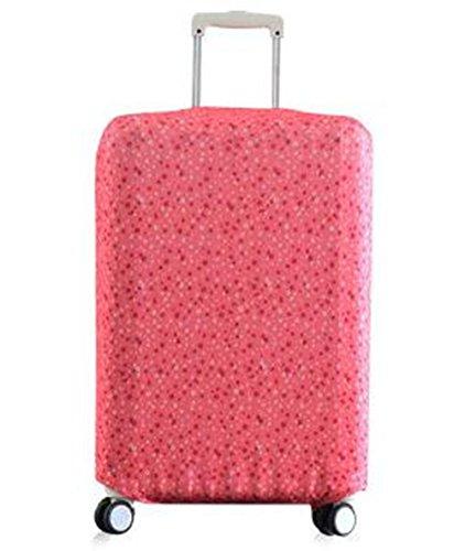 Equipaje de la maleta cubierta hellodigi algodón impresión elástico
