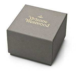 Vivienne Westwood reloj infantil de cuarzo con para mujer plateado esfera analógica y correa de acero inoxidable de oro rosa y cristales VV006SLRS de Vivienne Westwood