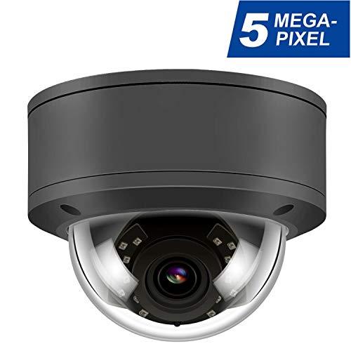 5MP POE IP-Kamera IR mit Nachtsicht, berwachungskamera f¨¹r Outdoor/Indoor Wasserdicht, H.265 / H.264 ¡