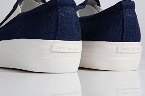 Vagabond Keira Slip on Canvas Blue-Sneaker basique sans lacets en Toile-Bleu Bleu - Bleu