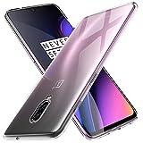 KuGi Coque OnePlus 6T,OnePlus 6T Coque Ultra Transparente Silicone en Gel TPU Souple[Anti Choc], Housse Etui de Protection pour OnePlus 6T(Transparent)