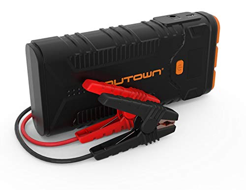 AUTOWN Starthilfe Powerbank 20800mAh 2000A Spitzenstrom, Starthilfe Power Pack 12V, Auto Starthilfe AKKU mit Display