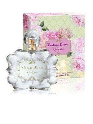 Vintage Bloom fur Damen Geschenkset - 100 ml Eau de Parfum Spray + 90 ml Körperlotion + 90 ml Duschgel + 6 ml Eau de Parfum Rollerball (Vintage Parfüm-set)