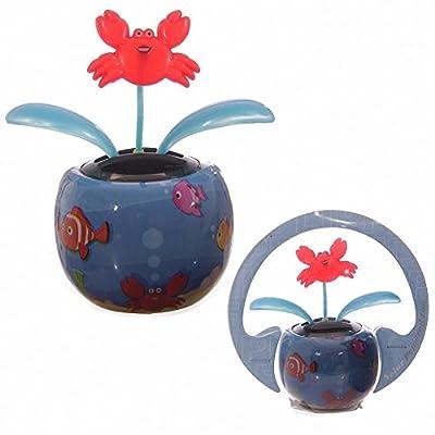 Cute Seaside Design Crab Solar Pal