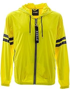PYREX - Hombre chaqueta 33320 XS Amarillo