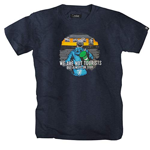 """PG Wear \""""Tourist\"""" T-Shirt -darkgrey- (L)"""