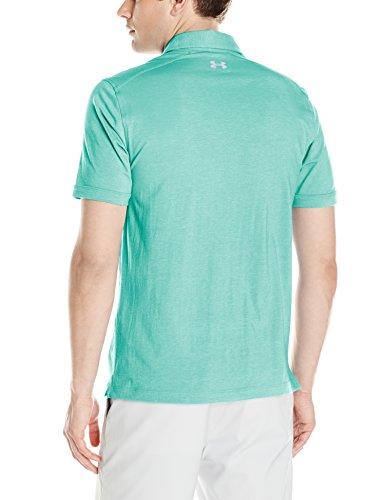 Under Armour Herren Charged Cotton Scramble Polo Kurzarmshirt Mint