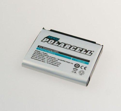 NFE² Edition Polarcell Lithium-Ionen Akku - 1100mAh - für Samsung SGH-G800, L870, M8910 und S5230