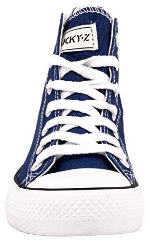 Elara - Sneaker Donna Blau