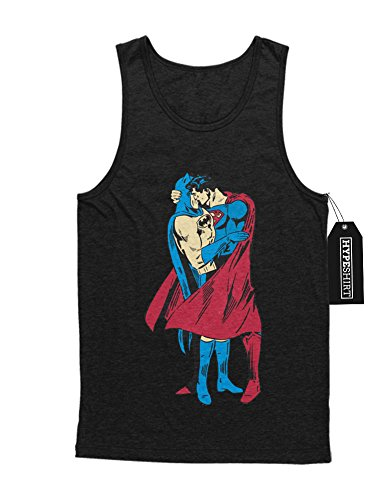 "Tank-Top Batman and Superman ""IN LOVE"" H549932 Schwarz"