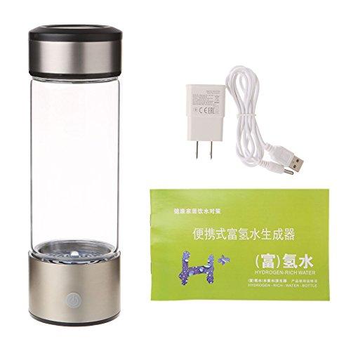 tandou Wasserstoff Maker Cup 400ml Portable wasserstoffreiches Wasser Maker Ionisator Generator Flasche Cup Weihnachts geschenke (Natürliche Vitamine Kleinkind)