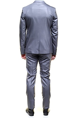 Azzaro - Costume Le249s-bu1s002 78 Gris Moyen Gris