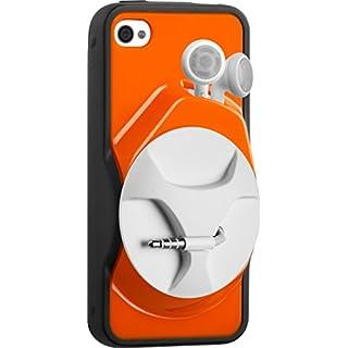 Athos = C SmartWind Schutzhülle für Apple iPhone 4(mit Kabel-Aufroller, mehrfarbig