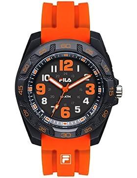 FILA Unisex-Armbanduhr Analog Quarz 38-099-004 FILASTYLE Orange