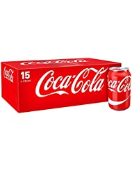 Coca-Cola Original Taste Cans, 15 x 330 ml