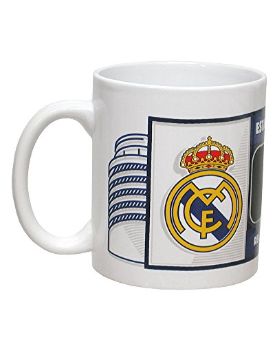 REAL MADRID CF® Taza Pizarra con Tiza en Caja