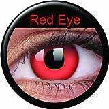 Kontaktlinsen Red Devil / Teufel Rot Bild