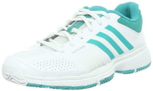 Chaussures ADIDAS Femme adipower Barricade W Blanc / Vert Cèdre Vert